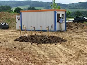 Biogasanlage Hardgesen Spatenstich