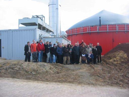 Eine Delegation aus Italien sammelt in Hardegsen Ideen und Eindrücke für Biogasprojekte in der südeuropäischen Heimat.
