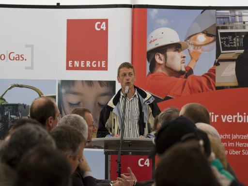 Martin Klarmann, Vorsitzender der Anbauervereinigung