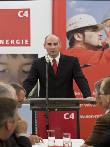 Siegmund Laufer, Geschäftsführer E.ON Mitte Wärme GmbH